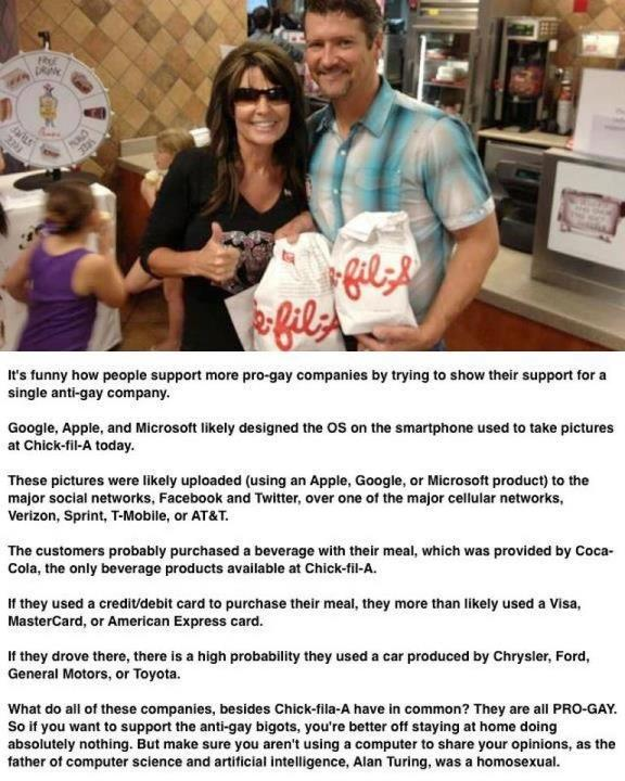 Chick-Fil-A Appreciation Day Celebrates Gays by Accident