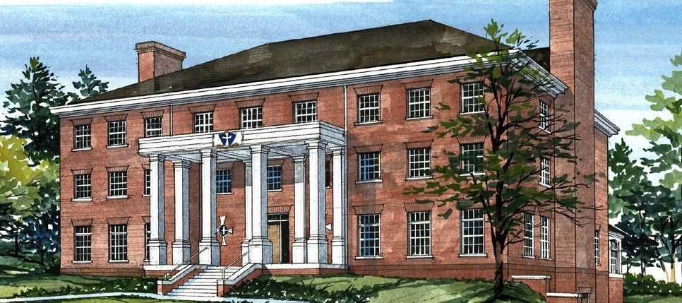 Ratio Architect's rendering of the Sigma Chi house at Wabash College